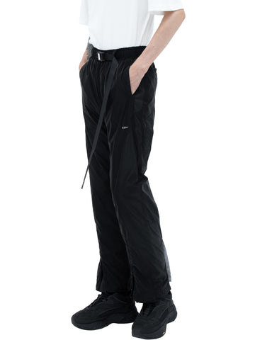 """Filtered Reality"" Layered Track Pants"