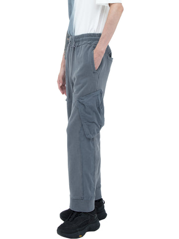 """Filtered Reality"" Cold-Dye Panelled Sweatpants"