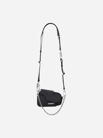 """Filtered Reality"" Nebula mini Leather Shoulder Bag"