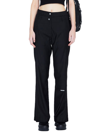 """My Own Private Planet"" Double Waist Sculpt Tailored Trousers"