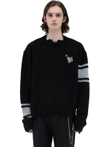 "C2H4® X MASTERMIND JAPAN ""C-MASTERMIND"" Reflective Knit Sweater"