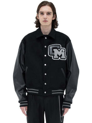 "C2H4® X MASTERMIND JAPAN ""C-MASTERMIND"" Applique Baseball Jacket"