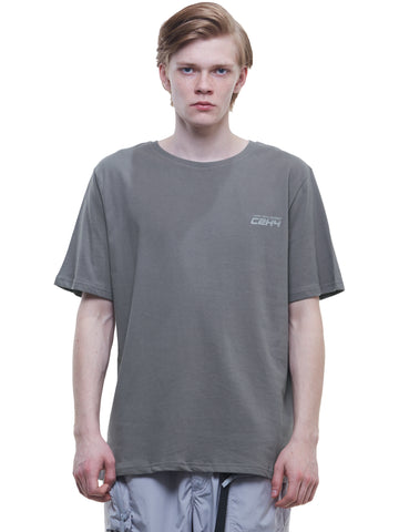 """FM-2030"" Instruction Print T-Shirt"