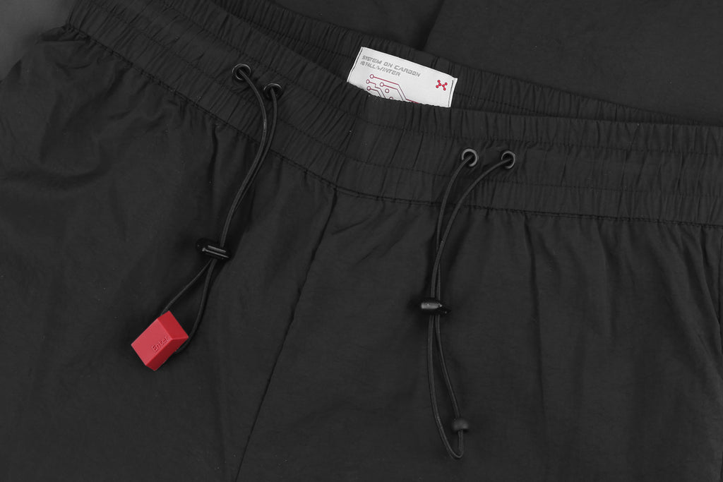 "18FW ""SYSTEM ON CARBON"" SPLICING 3M SEAMLANE TRACK PANTS"