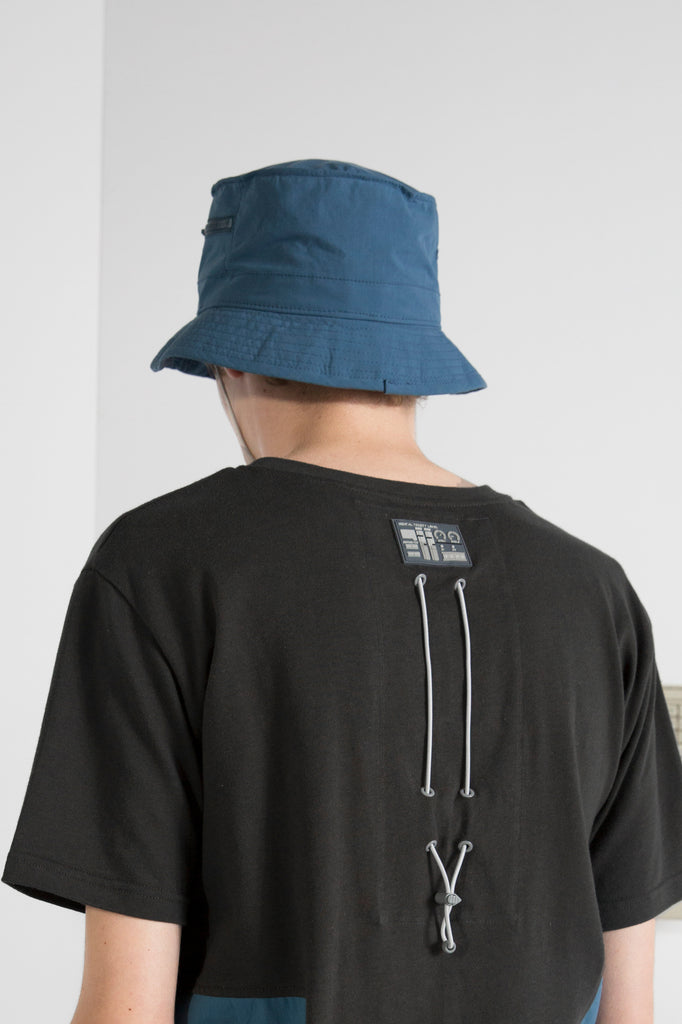 "18FW ""SYSTEM ON CARBON"" ACTG Zip Pocket Bucket Cap"