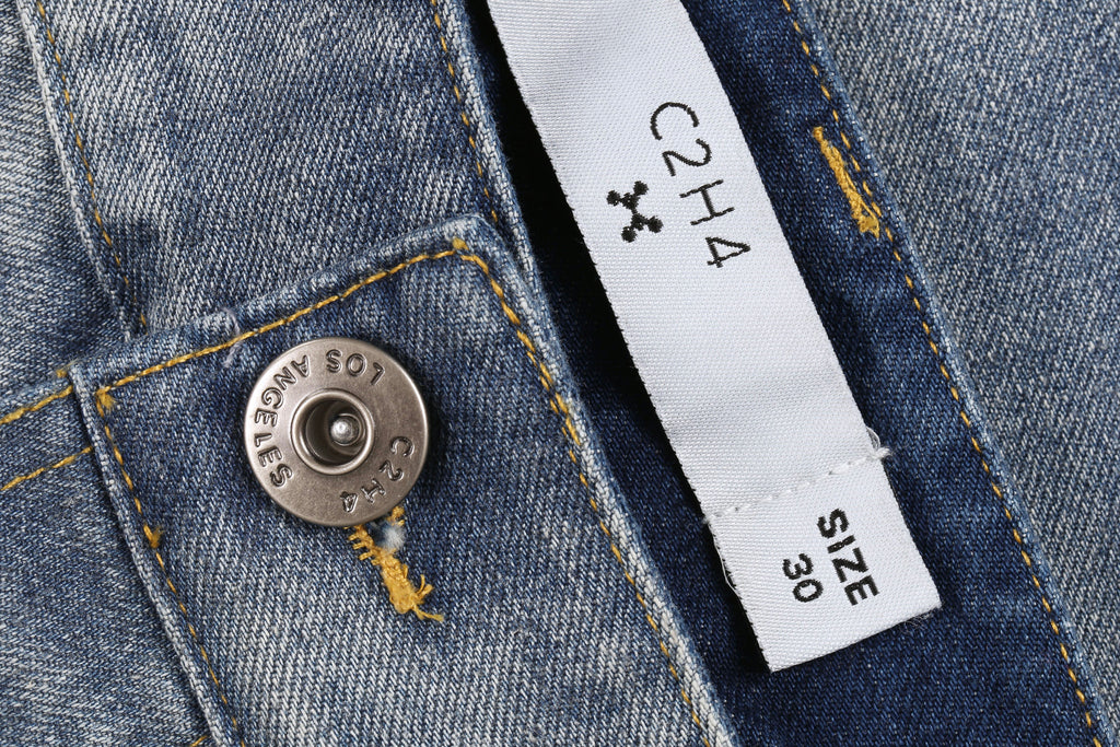 "16SS ""ICE COLD"" DROP CROTCH JEANS"