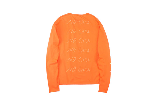 "16FW ""NO CHILL"" CIGARETTE LONG SLEEVE T-SHIRT"