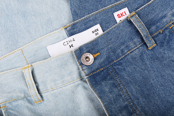 "16FW ""NO CHILL"" DROP CROTCH JEANS"