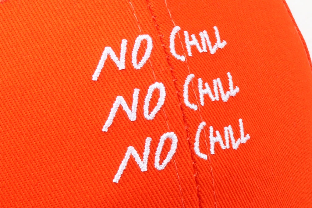 "16FW ""NO CHILL"" NO CHILL BASEBALL CAP"