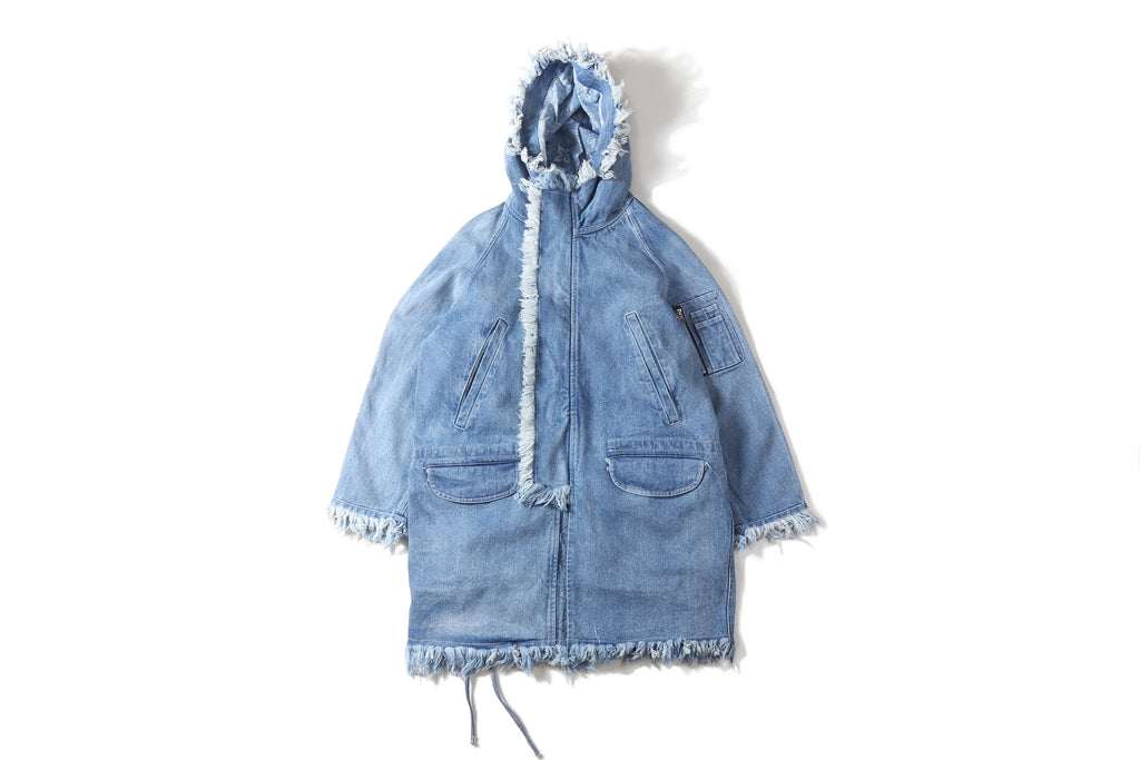 "16FW ""NO CHILL"" DENIM PARKA"