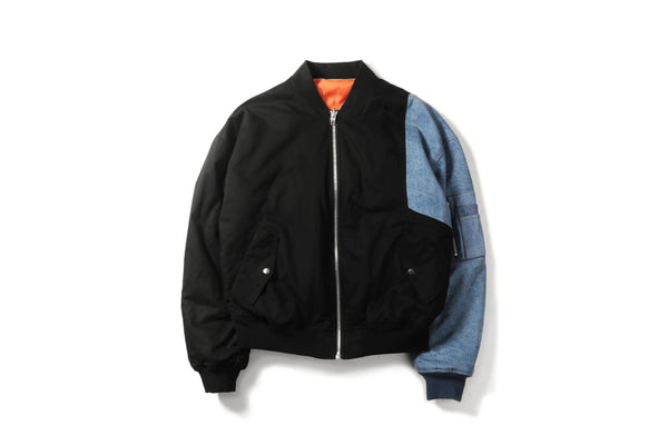 "16FW ""NO CHILL"" REASSEMBLED MA-1 JACKET"