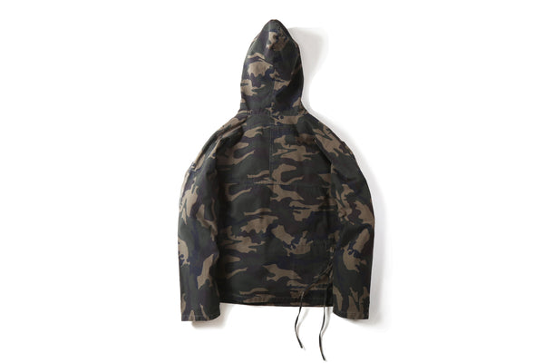 "17SS ""SOUR BULLET"" CAMO PULLOVER JACKET"