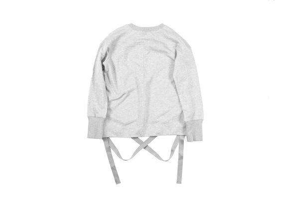"15SS ""NOT A HUMAN"" STRAPPED CREWNECK"