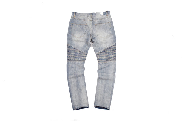 "15SS ""NOT A HUMAN"" DESTROYED JEANS"