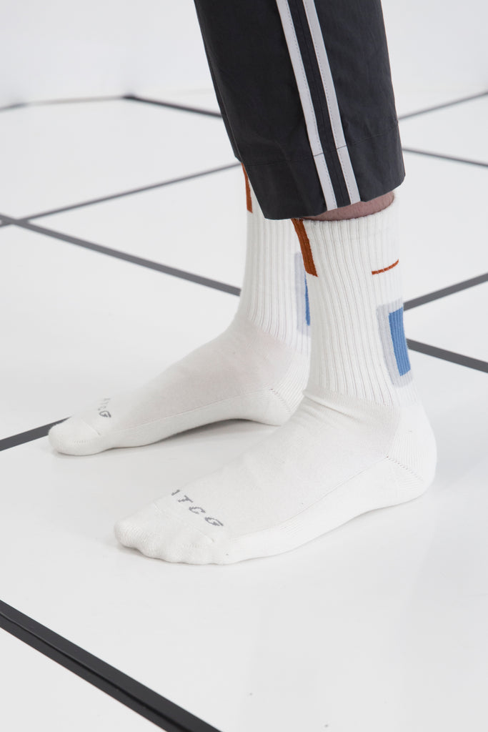 "18FW ""SYSTEM ON CARBON"" Screen Sock"