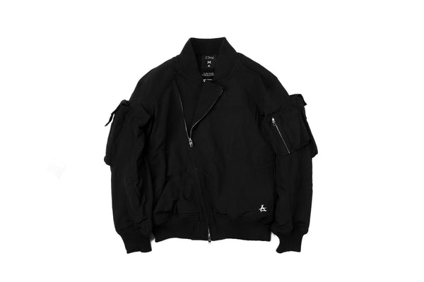 "15FW ""AGAINST ALL AUTHORITY"" BASIC MA-1 JACKET"