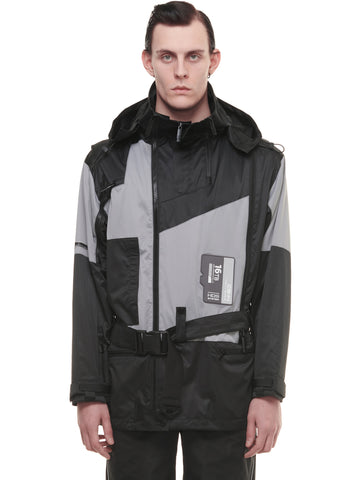 """FM-2030""Utility Mutizipper Tactical Jacket"