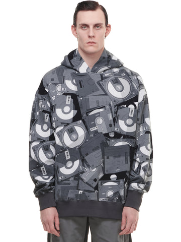 """FM-2030"" Disposed Flash Drive Full Print Hoodie"