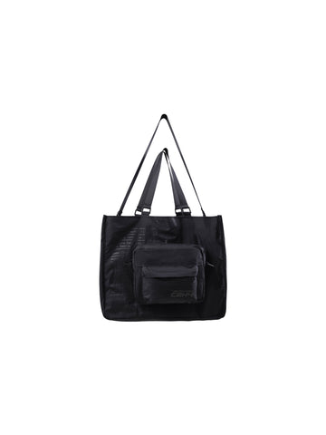 """FM-2030"" Instruction Print Tote Bag With Detachable Shoulder Bag"