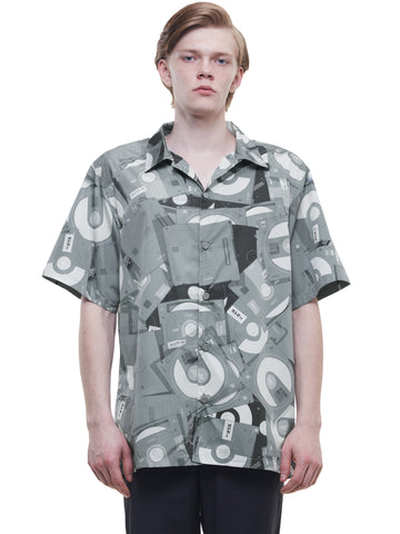 """FM-2030"" Disposed Flashdrive Full Print Short Sleeve Shirt"