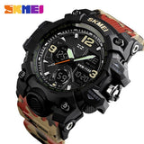 Top Luxury Military Army Camo Sports Watches Digital Waterproof