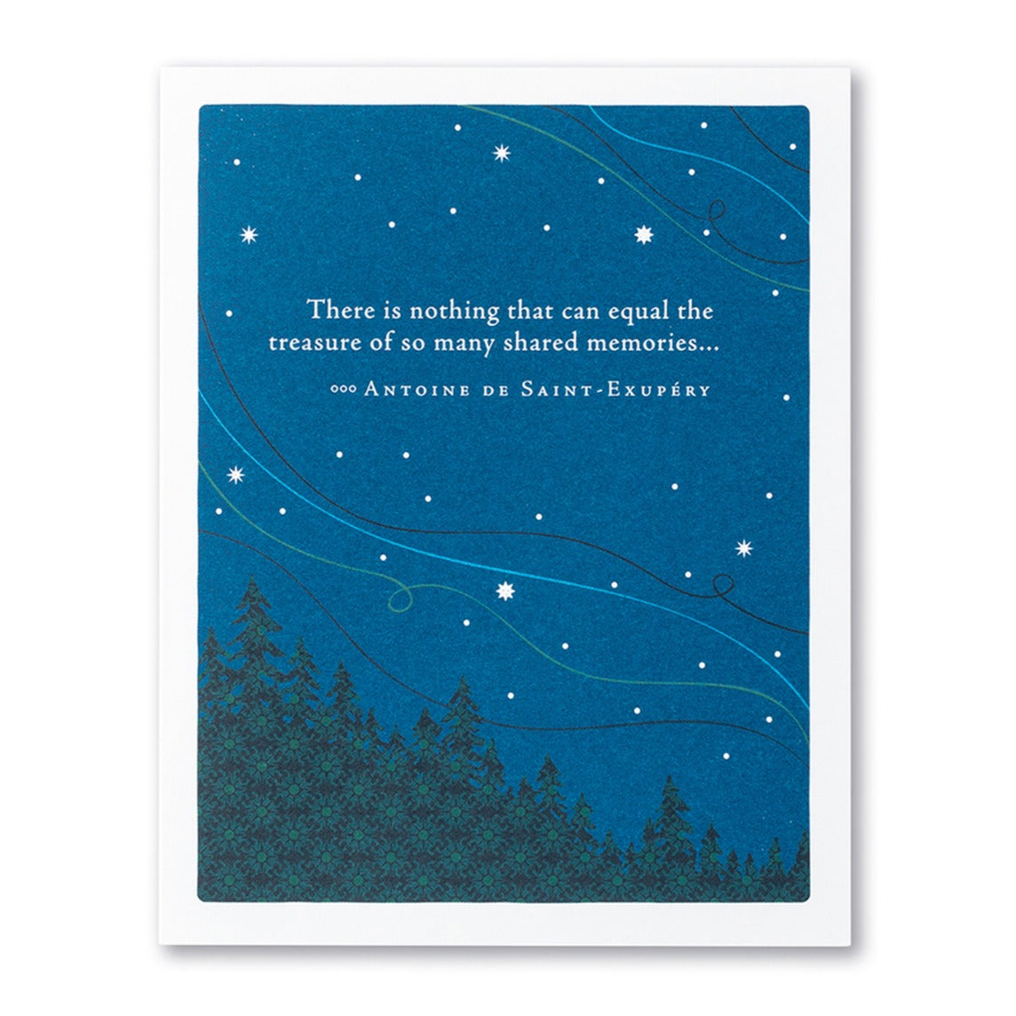 Many Shared Memories Sympathy Card