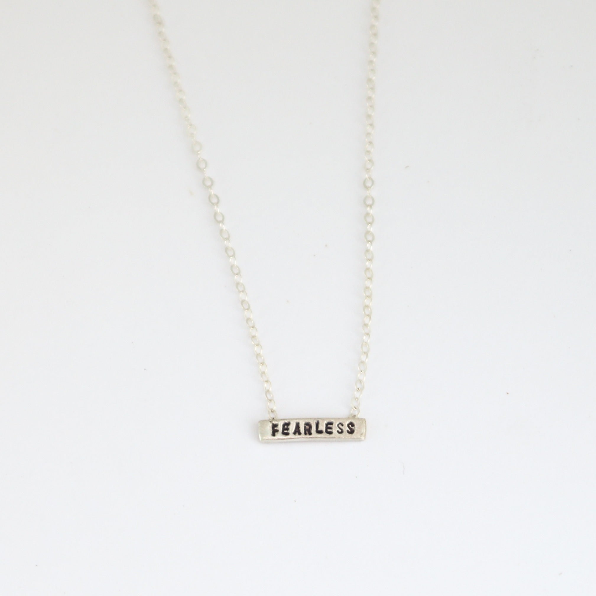 Fearless Tiny Necklace
