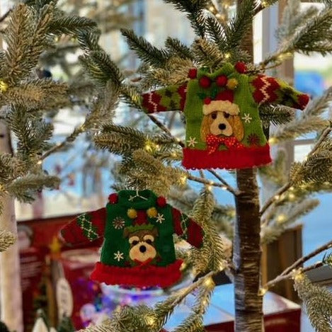 Pet Sweater Ornament