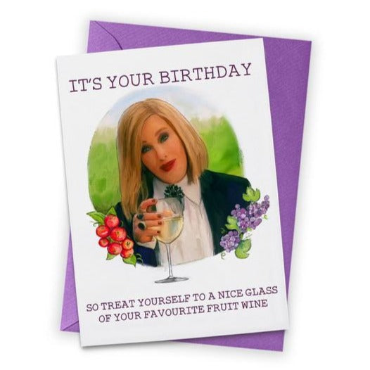 Moira Schitt's Creek Birthday Card