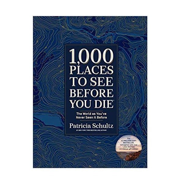 1,000 Places To See Book