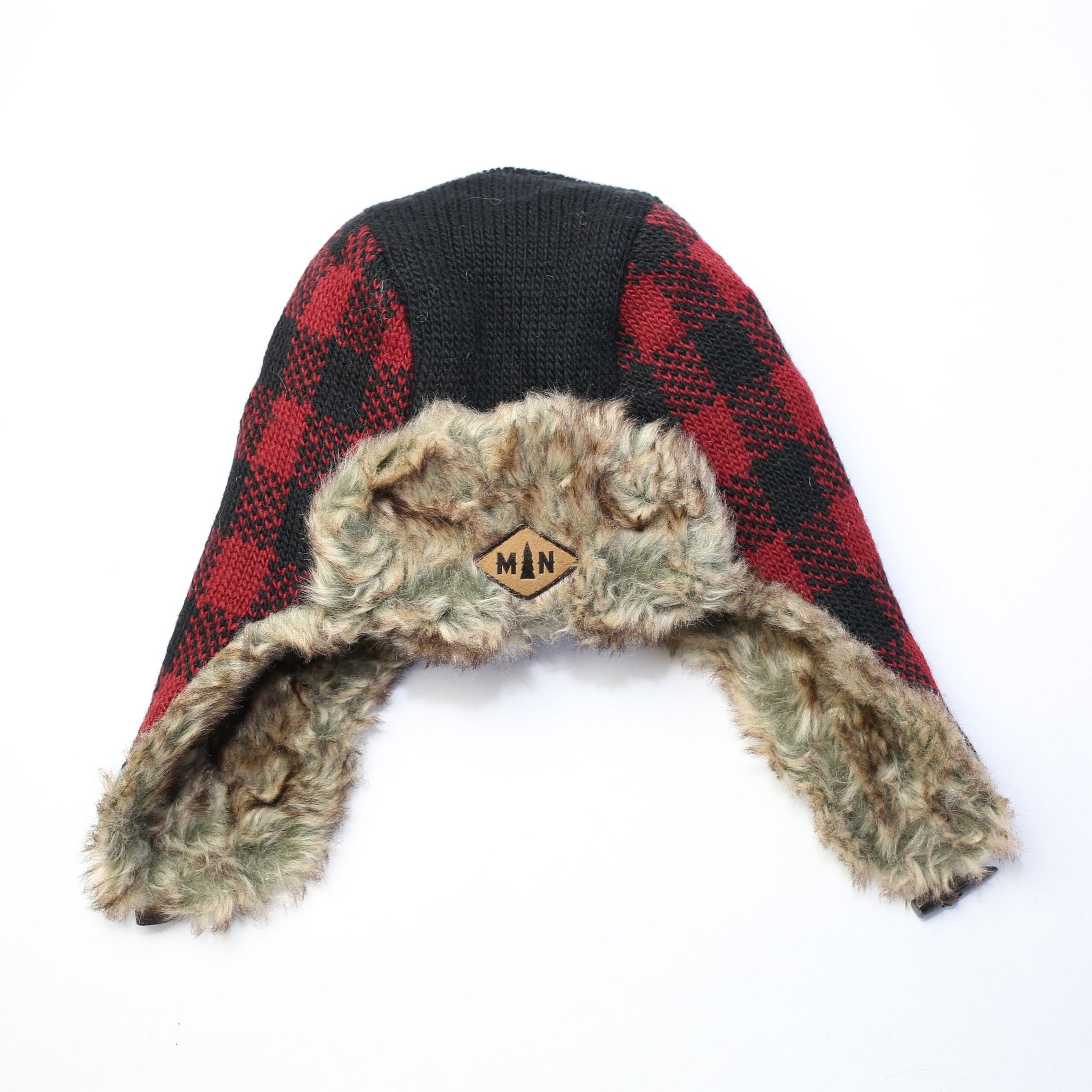 Red Buffalo Check MN Hat