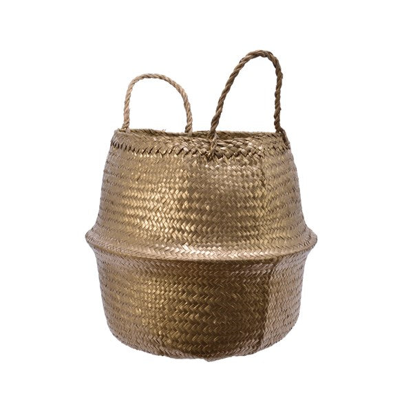 Sea-grass Basket with Handles