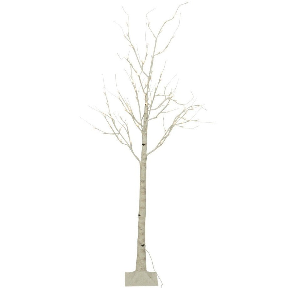 4.1' White Birch LED Tree