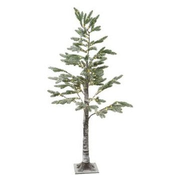 4.9' LED Frosted Pine Tree
