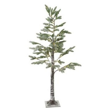 6.9' LED Frosted Pine Tree