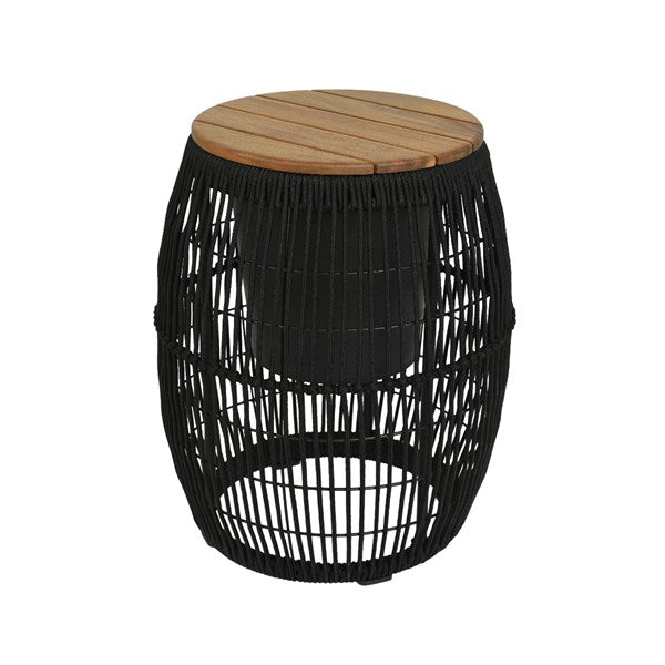 Black Rope Deco Table