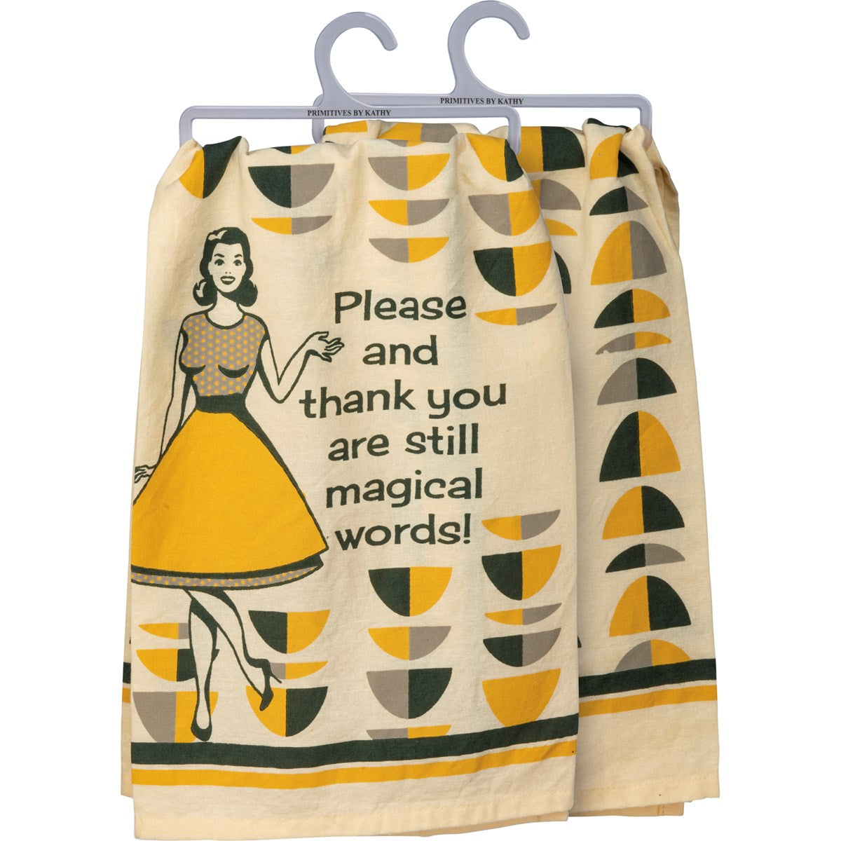 Magical Words Dish Towel