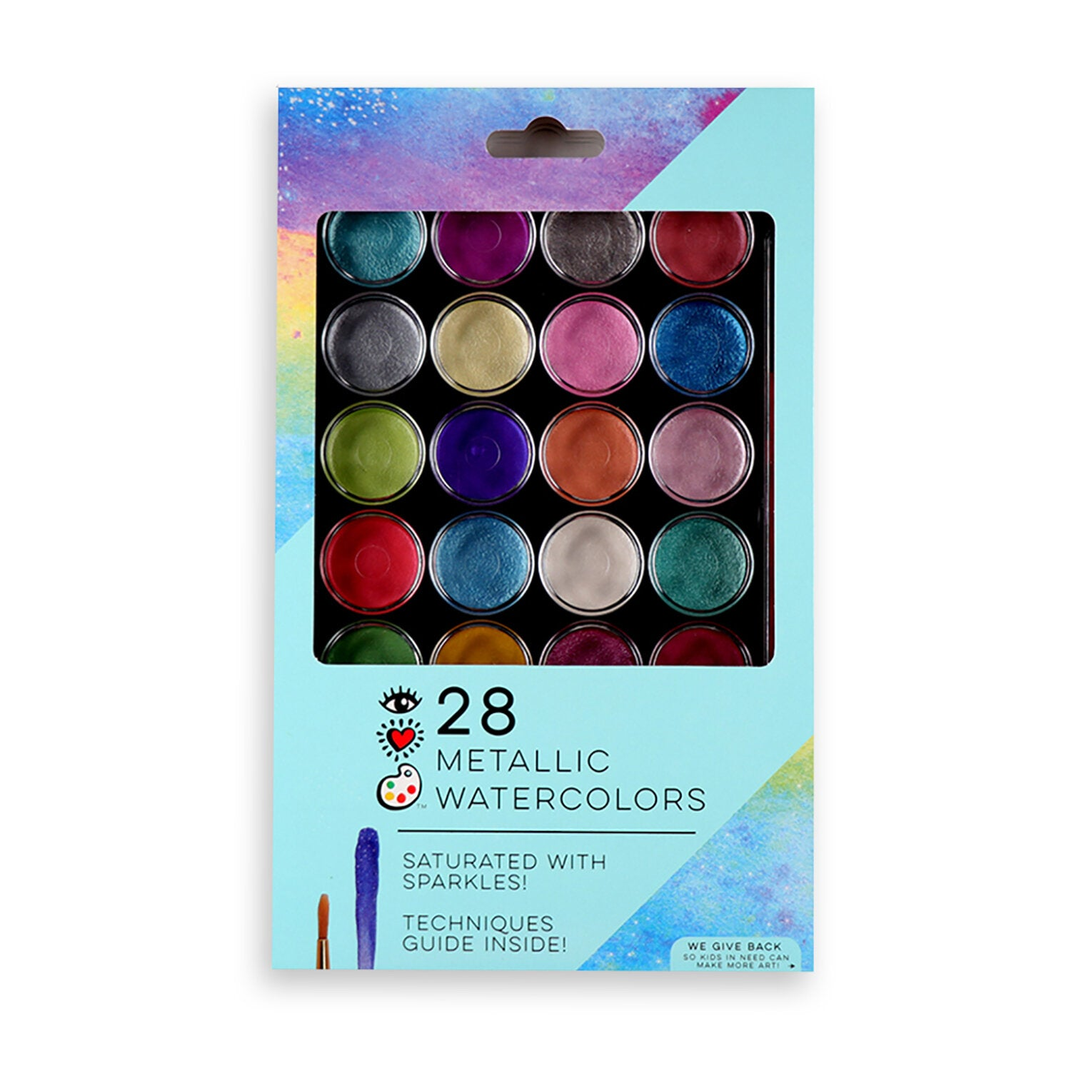 Metallic Watercolor Paint Set