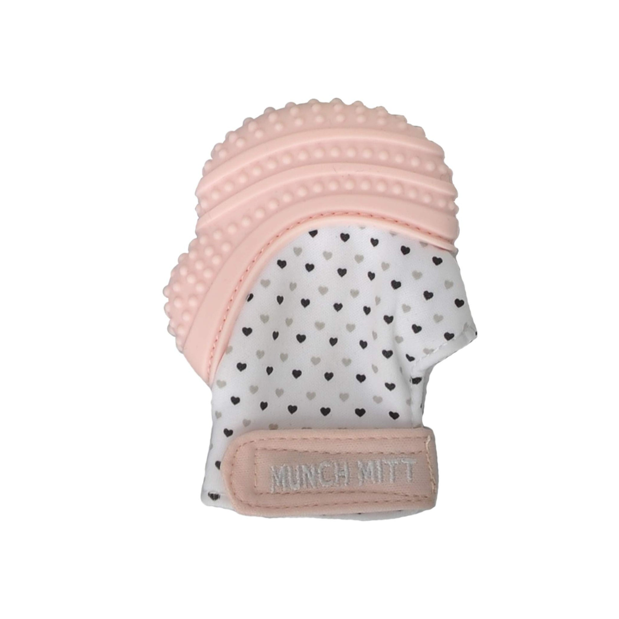 Peachy Pink Munch Mitt