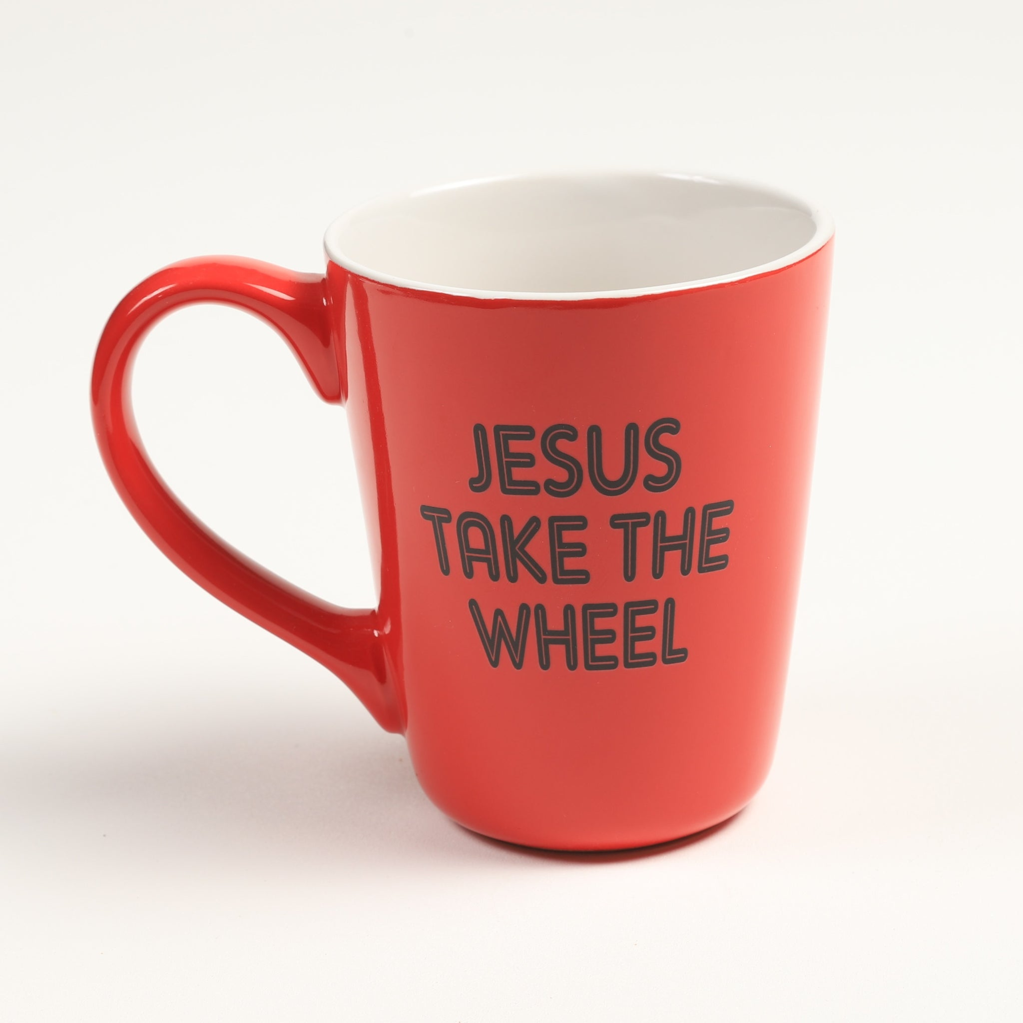 Jesus Take the Wheel Mug