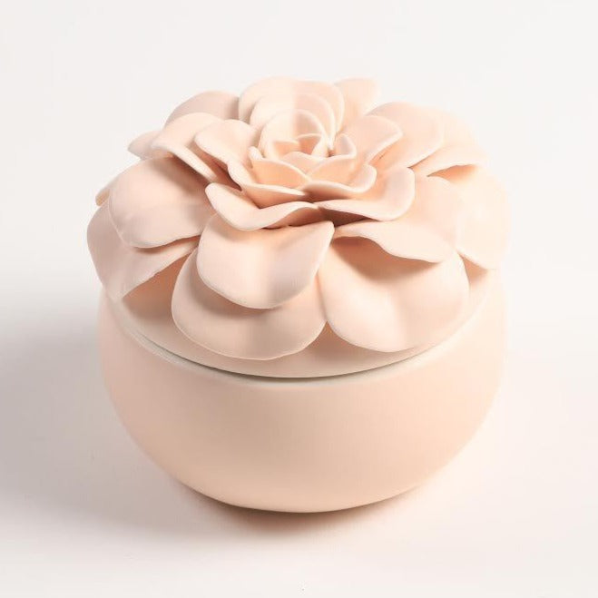 Ceramic Flower Candles