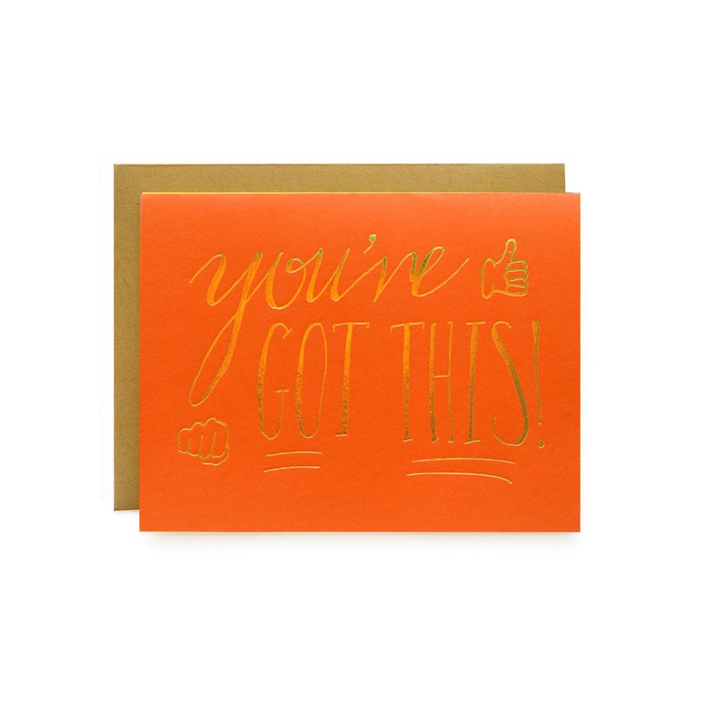 You've Got This Blank Card