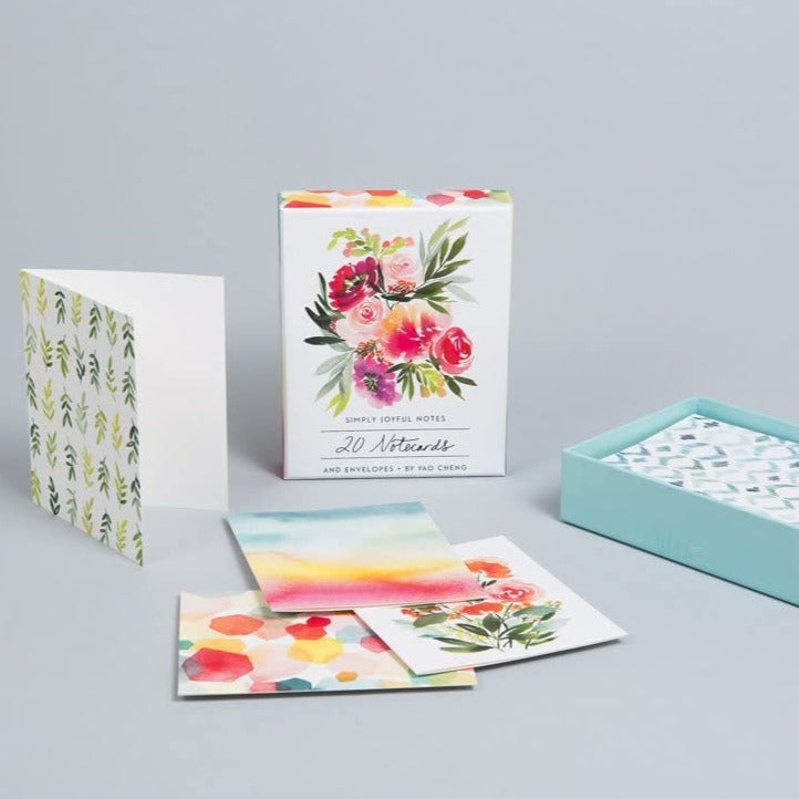 Simply Joyful Blank Boxed Cards