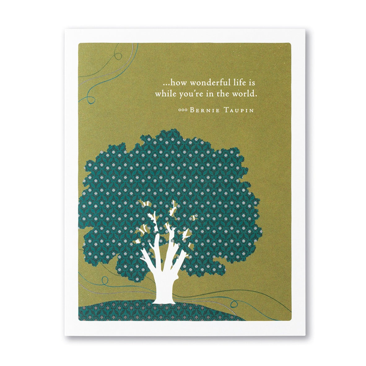 How Wonderful Life Is Birthday Card