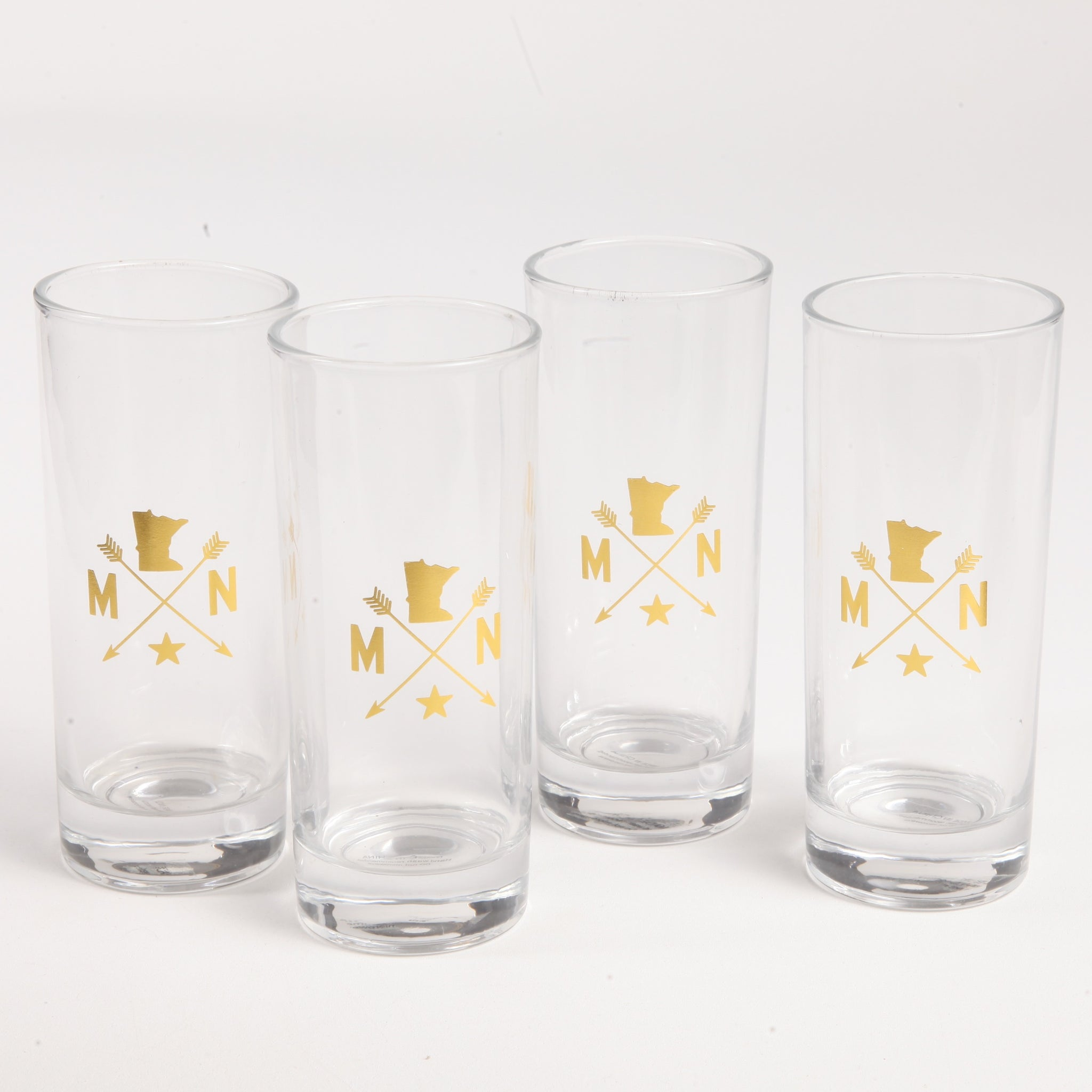 MN Arrow Glasses Set
