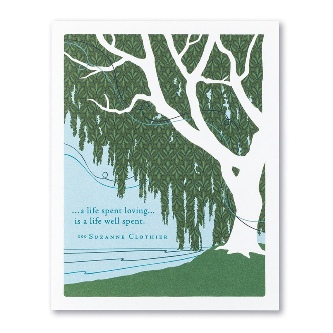 Life Spent Loving Sympathy Card