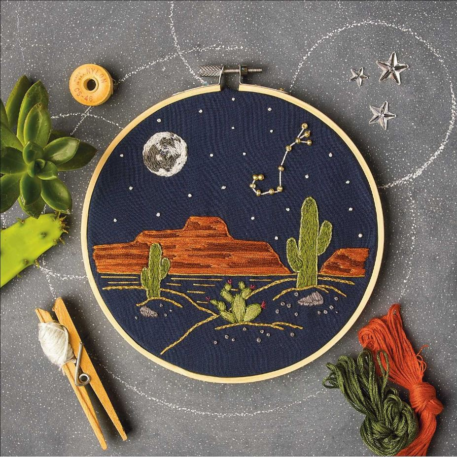 Star Signs Embroidery Kit