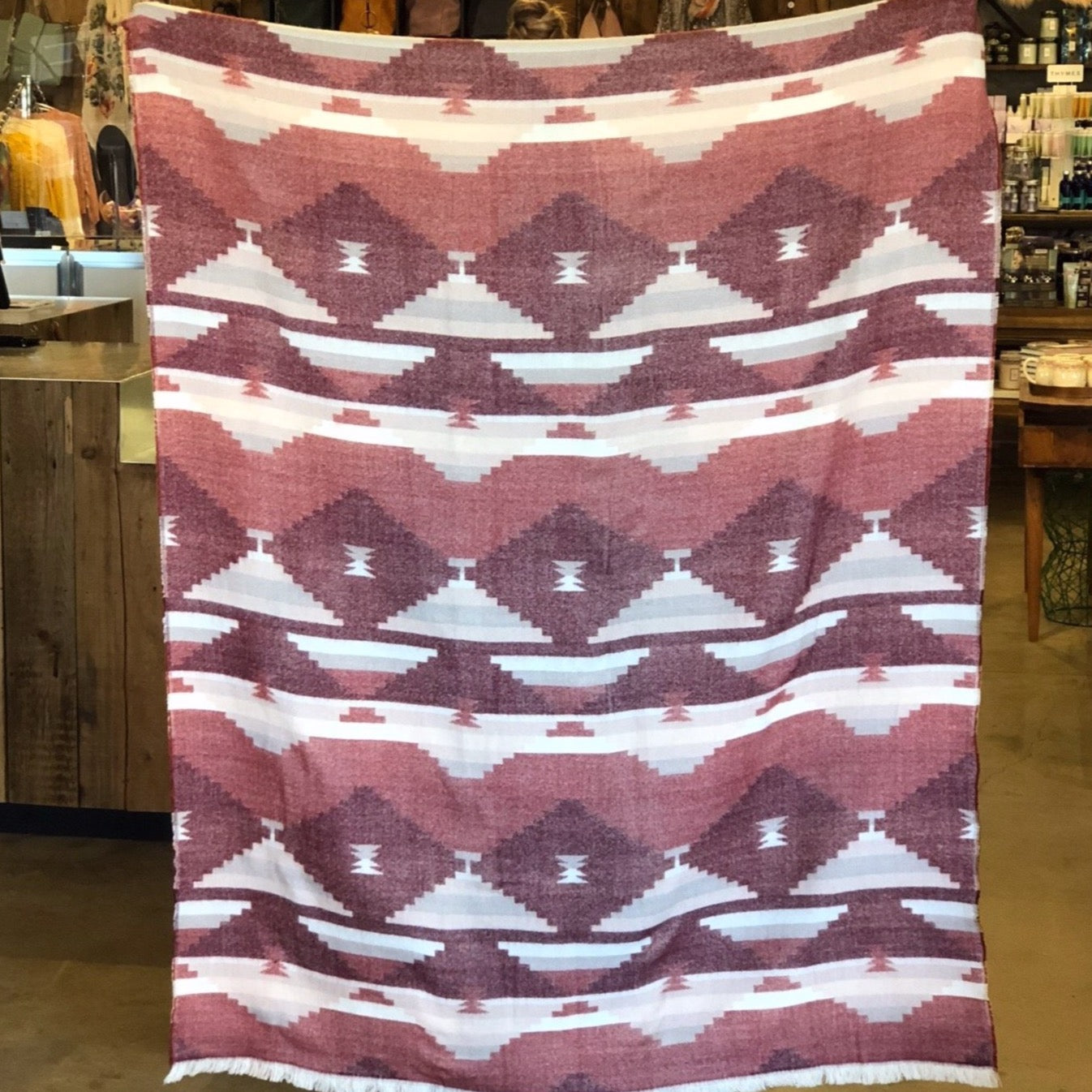 Cinnamon Mirage Blanket
