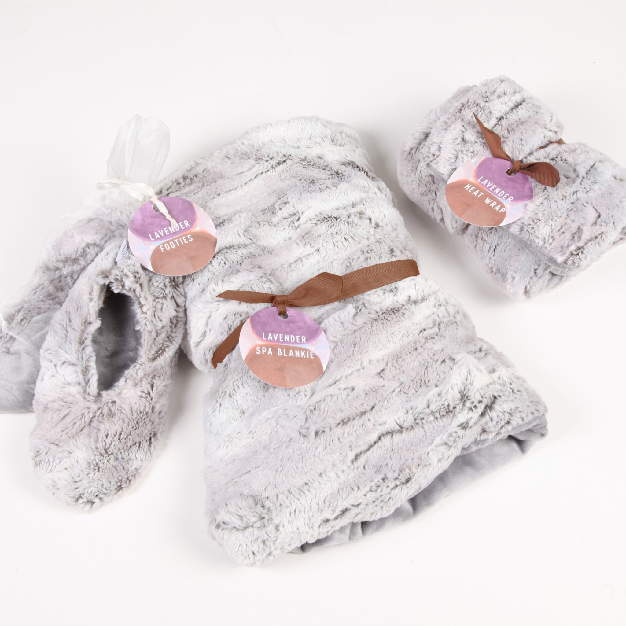 Silver Heatable Lavender Spa Collection