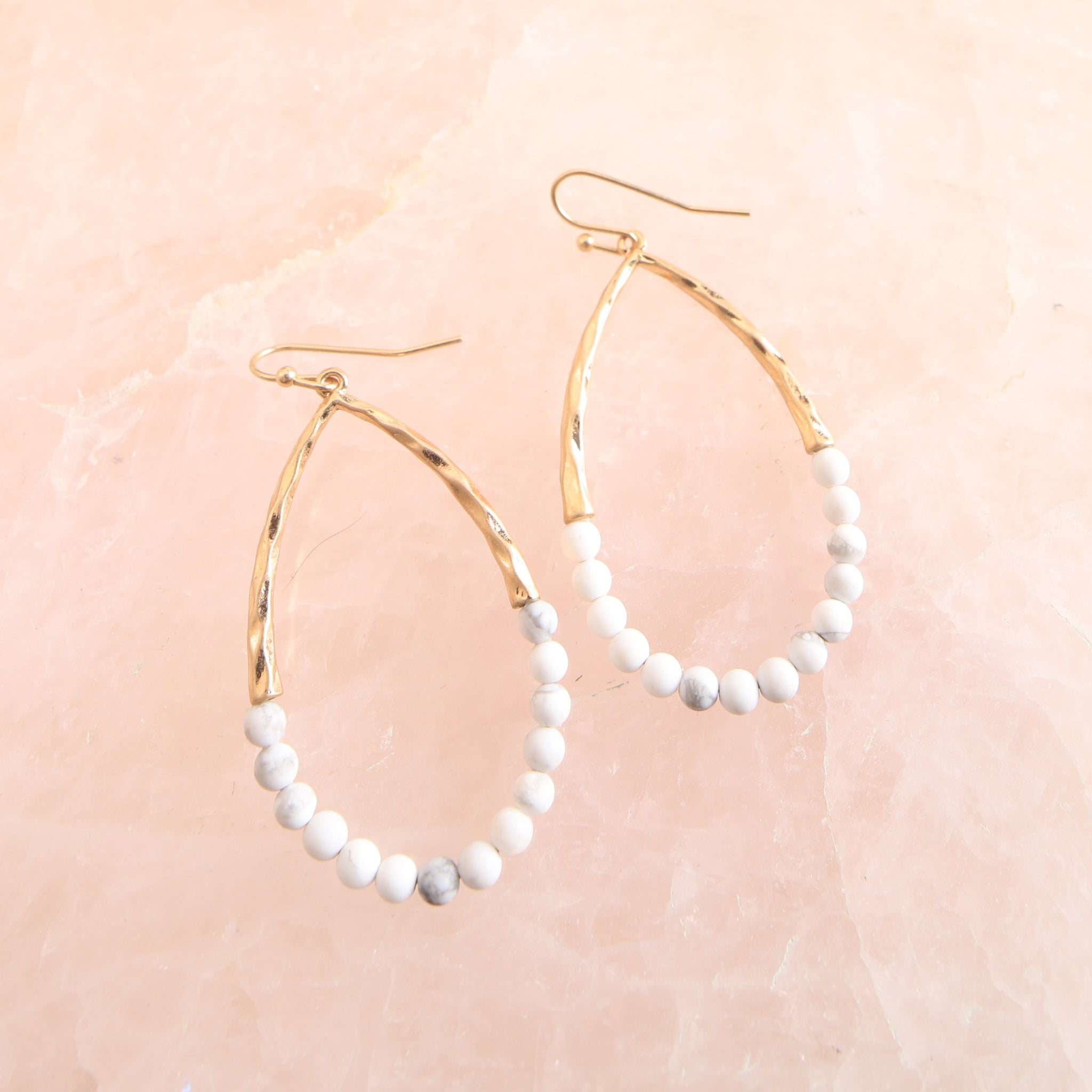 Beaded Loop Earring